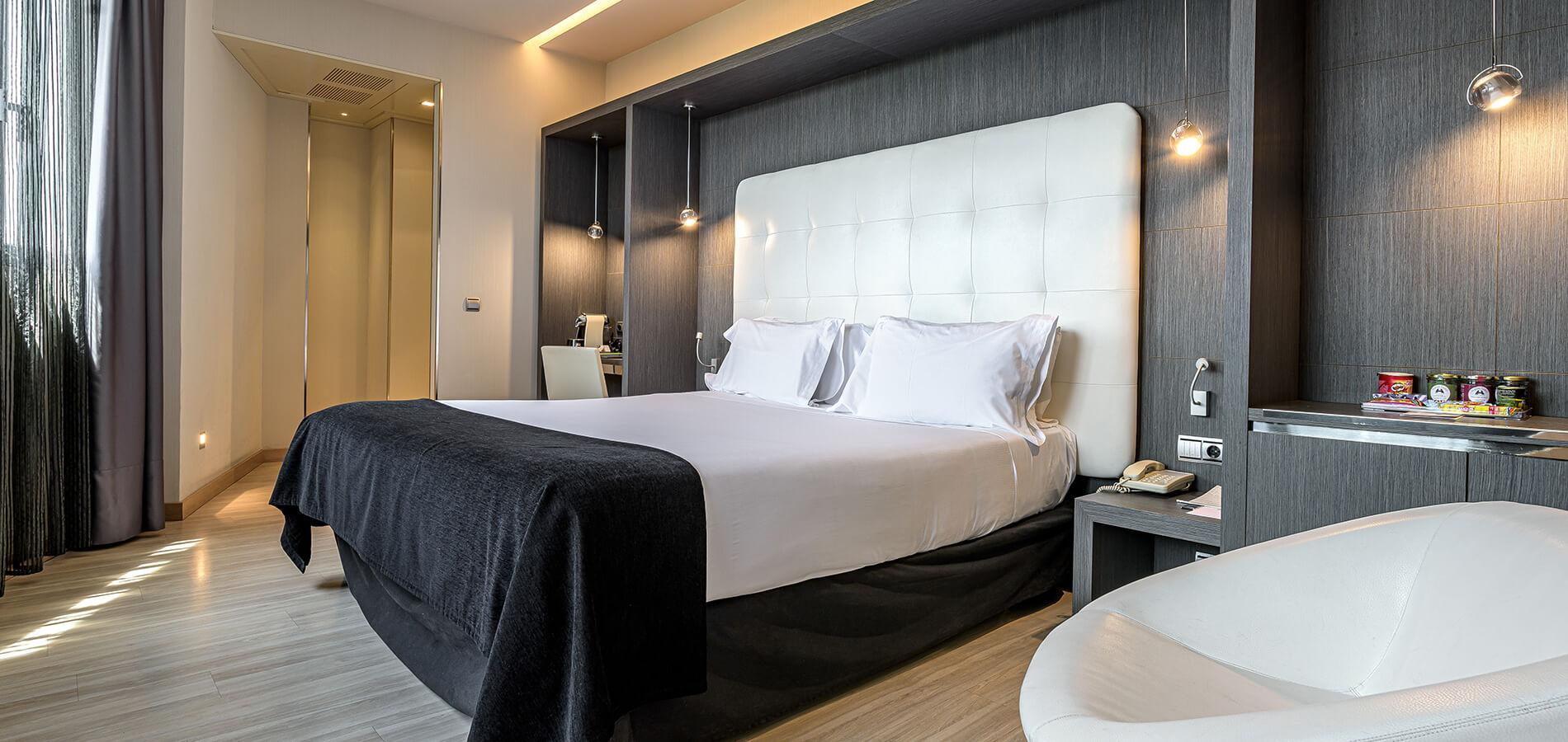 Habitaciones cómodas, espaciosas y con un cuidado diseño ...
